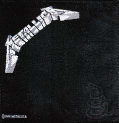 METALLICA - Black one      Aufnäher