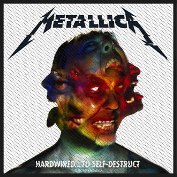 METALLICA - Hardwired... to self-destruct      Aufnäher