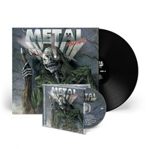 VA - Metal massacre XIV & CD      LP
