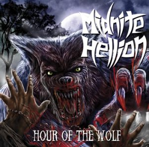 MIDNITE HELLION - Hour of the wolf      Single