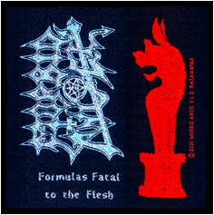 MORBID ANGEL - Formulas fatal to the flesh      Aufnäher
