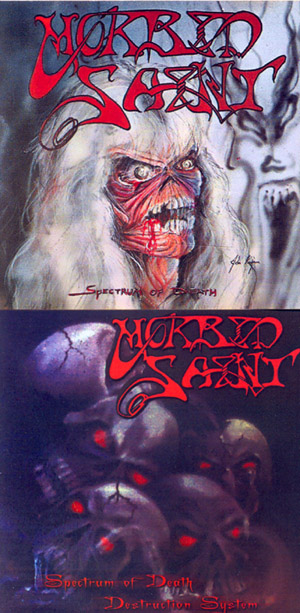 MORBID SAINT - Spectrum Of Death / Destruction System      CD