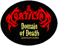 MORTICIAN - Domain of death      Aufnäher