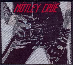 MÖTLEY CRÜE - Too fast for love      Aufnäher