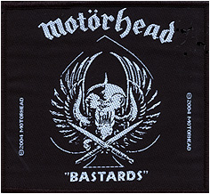 MOTÖRHEAD - Bastards      Aufnäher