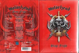 MOTÖRHEAD - Stagefright - live 2004      2-DVD