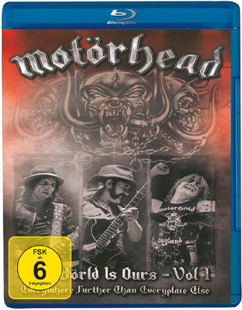 MOTÖRHEAD - The world is ours - Everything further than everyplace else - Vol. I      Blu-Ray