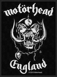 MOTÖRHEAD - England      Aufnäher