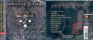 MPIRE OF EVIL - Crucified      CD