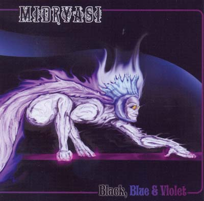 MIDRYASI - Black, blue & violet      CD