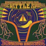 NEGATIVE REACTION - Everything you need for galactic battle adventures      CD