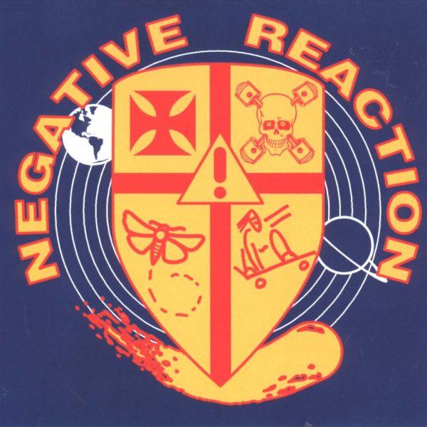 NEGATIVE REACTION / RAMESSES - split      CD