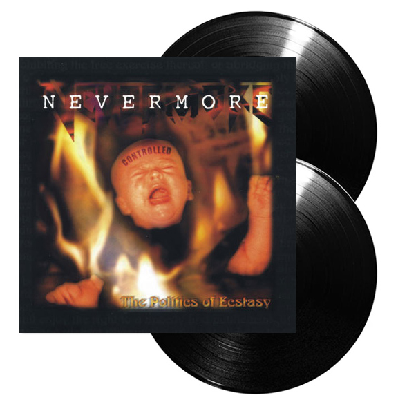 NEVERMORE - The politics of ecstasy & In memory      DLP