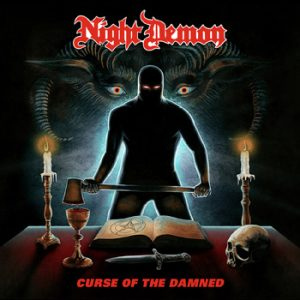 NIGHT DEMON - Curse of the damned      CD