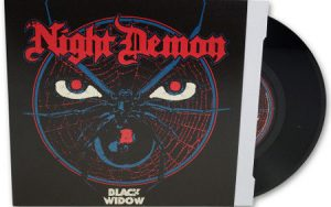 NIGHT DEMON - Black widow      Single