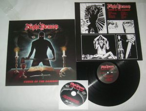 NIGHT DEMON - Curse of the damned      LP