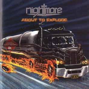 NIGHTMARE - About to explode & poster      LP
