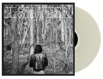 NIGHT VIPER - Night Viper - white vinyl      Single