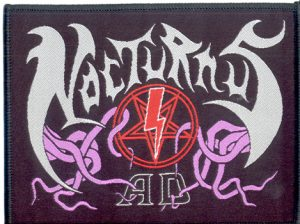 NOCTURNUS A.D. - Logo      Aufnäher