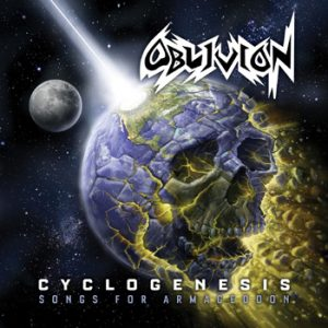 OBLIVION - Cyclogenesis songs for armageddon      2-CD