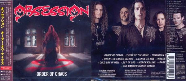 OBSESSION - Order of chaos & bonustrack      CD
