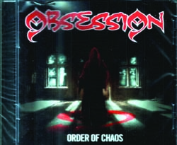 OBSESSION - Order of chaos      CD