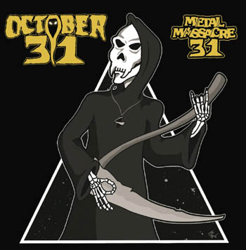OCTOBER 31 - Metal massacre 31      CD