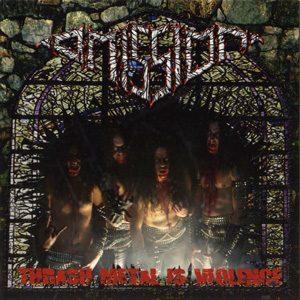 OMISSION - Thrash metal is violence      LP