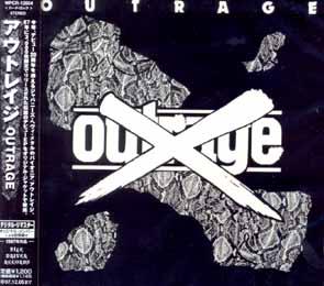 OUTRAGE - First Mini LP      Maxi CD