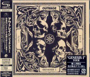 OUTRAGE - Genesis I      CD&DVD