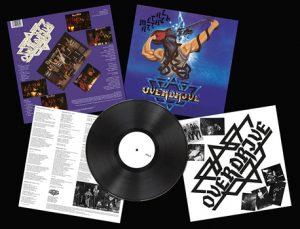 OVERDRIVE - Metal attack - rerelease      LP