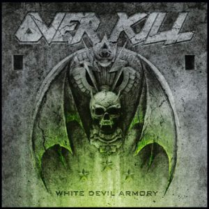 OVERKILL - White devil armory      Aufnäher