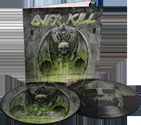 OVERKILL - White devil armory      DLP