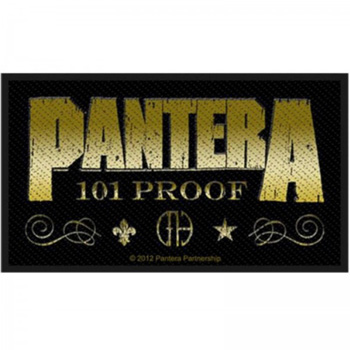 PANTERA - Whiskey Label      Aufnäher