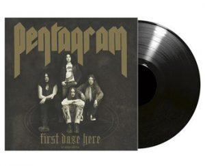PENTAGRAM - First daze here      LP