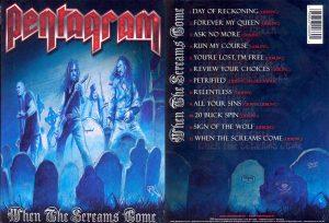 PENTAGRAM - When the screams come      DVD