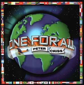 PETER CRISS (KISS) - One for all      CD
