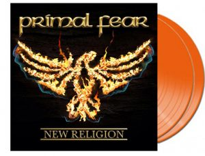 PRIMAL FEAR - New religion - orange vinyl - limited 250 copies      DLP