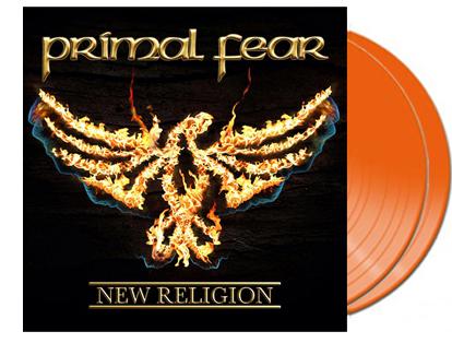 PRIMAL FEAR - New religion - orange vinyl - limited 250 copies      DLP