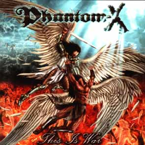 PHANTOM-X - This is war      CD