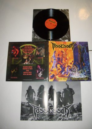 POSSESSOR - City built with skulls      LP