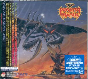 PRAYING MANTIS - Legacy & bonustrack      CD
