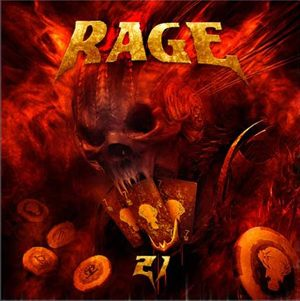RAGE - 21 (Twentyone)      2-CD