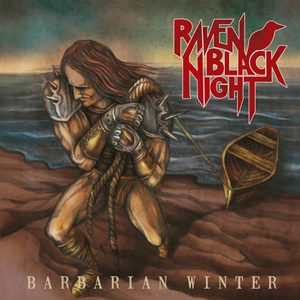 RAVEN BLACK NIGHT - Barbarian winter      CD