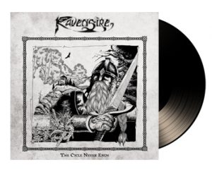 RAVENSIRE - The circle never ends      LP
