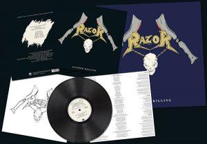 RAZOR - Custom killing      LP