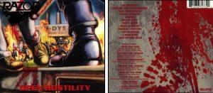 RAZOR - Open hostility - rerelease & 8 bonustracks      CD