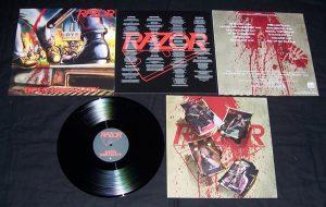 RAZOR - Open hostility      LP