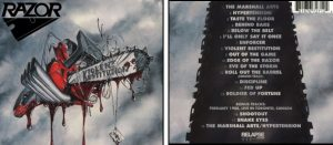 RAZOR - Violent restitution & 3 bonustracks      CD