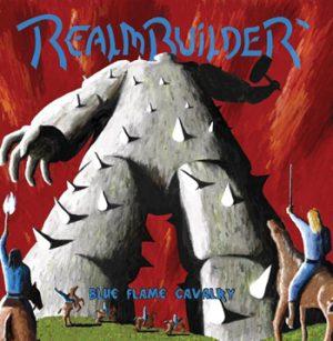 REALMBUILDER - Blue flame cavalry - blue vinyl      LP